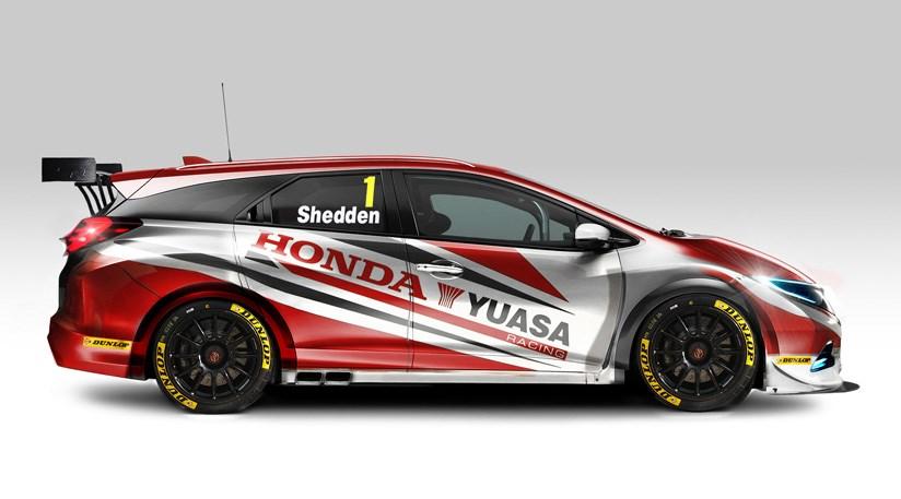 Honda Civic Tourer >> Honda Civic Tourer Btcc Racer 2014 First Official Pictures