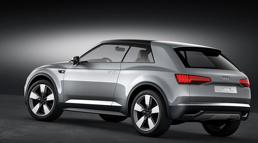 audi q2 2016 tiny suv confirmed by audi by car magazine. Black Bedroom Furniture Sets. Home Design Ideas