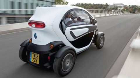 Renault Twizy Technic 2013 Review Car Magazine