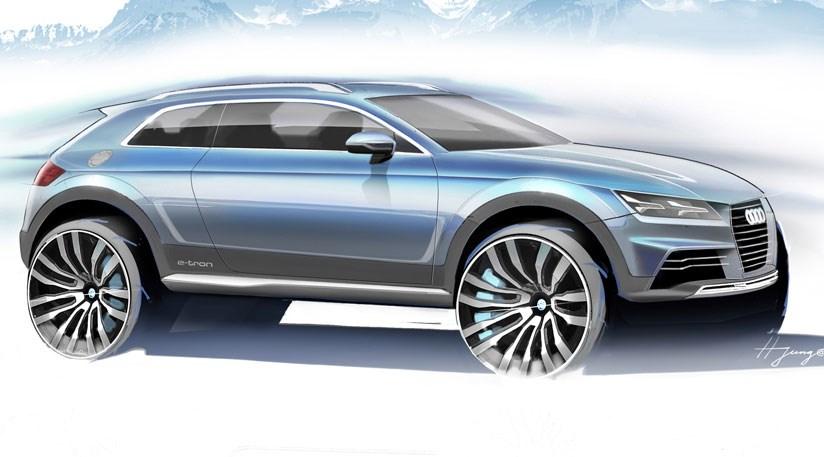 Amazing Audi Sports Car Concept Hints At New TT (2014) +3