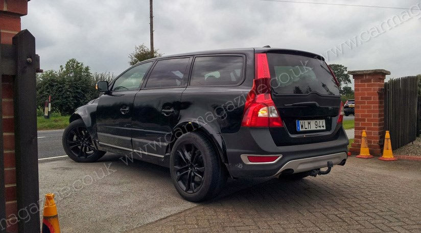 Volvo Xc90 Momentum >> Volvo SUV mule spied (2013) first glimpse of the new XC90 ...