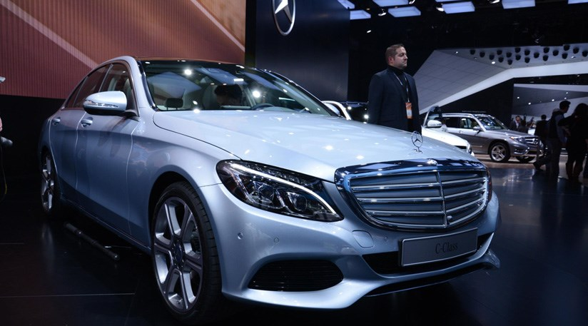 Mercedes C Class (2014) First Official Pictures +27