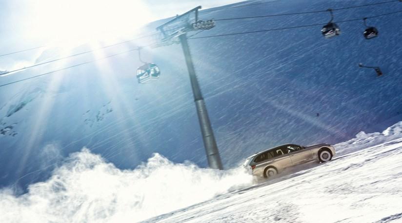 Bmw Ski >> BMW vs Winter: 330d xDrive takes on Alps ski slalom by CAR