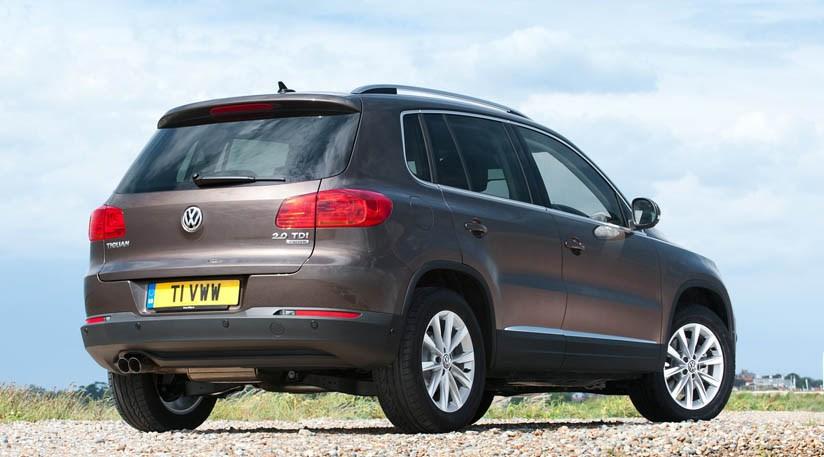 VW Tiguan 20 TDI Match 4Motion 2013 review by CAR Magazine