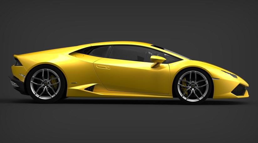 advertisement - Sports Cars Lamborghini 2014