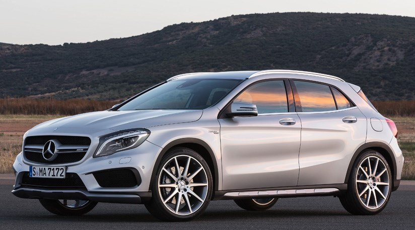 Mercedes Gla 45 Amg  2014  First Official Pictures