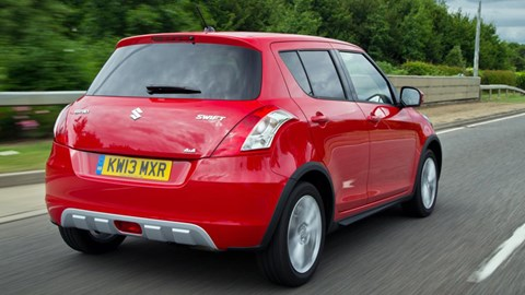 Suzuki Swift 4x4 SZ4 (2014) review | CAR Magazine