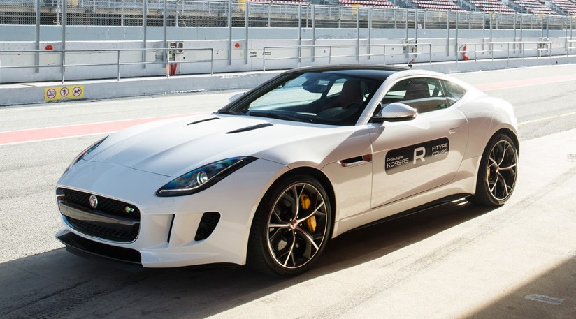 ... Jaguar F Type R Coupe (2014) Review ...
