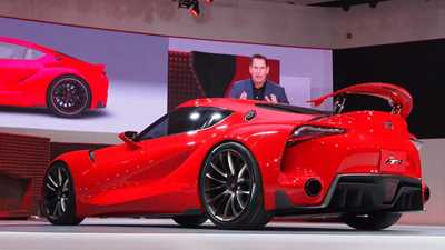 Toyota ft 1 Concept 2014