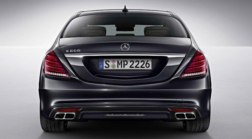 Mercedes S600 2014 First Official Pictures By Car Magazine