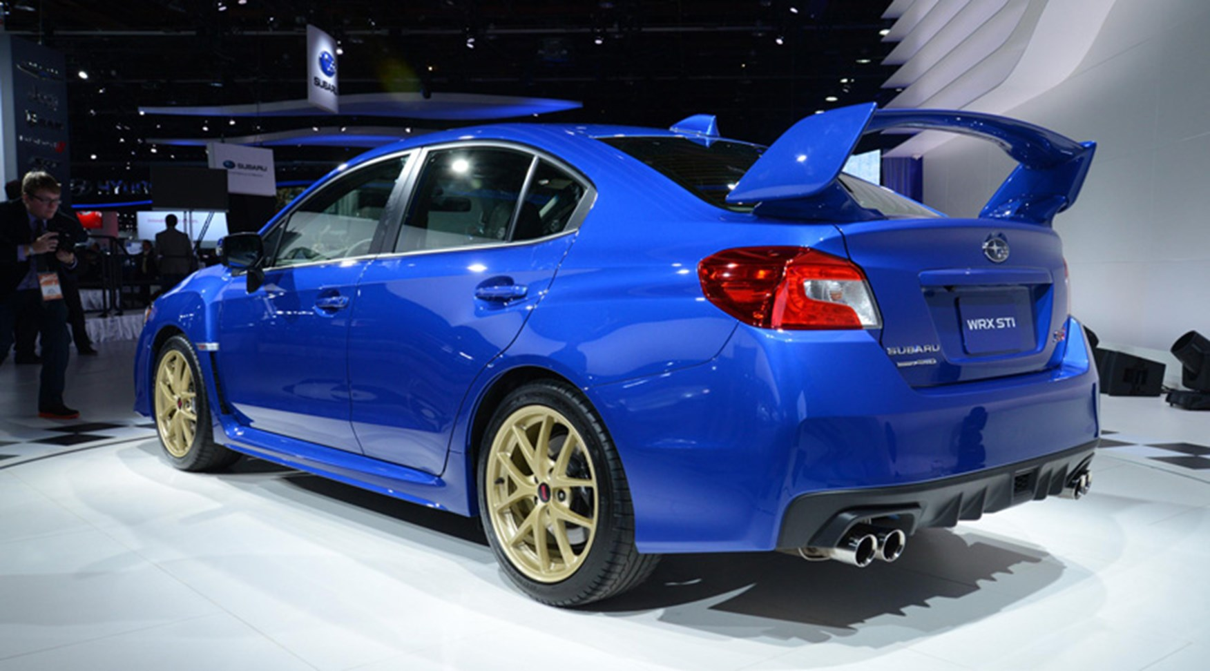 Subaru Wrx Sti 2014 Uk Sales Of New Impreza Confirmed