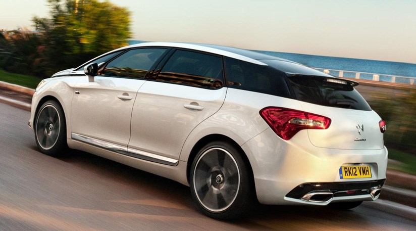 citroen ds5 2 0 hdi dsport 2014 review car magazine. Black Bedroom Furniture Sets. Home Design Ideas