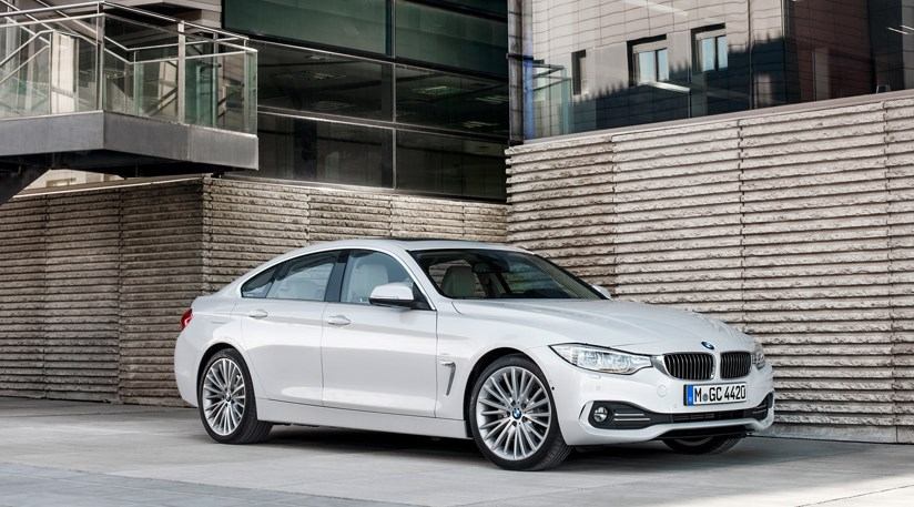 bmw 4 series gran coupe 2014 first official pictures by car magazine. Black Bedroom Furniture Sets. Home Design Ideas