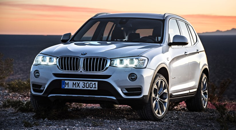 Bmw X3 Facelift 2014 First Official Pictures Car Magazine