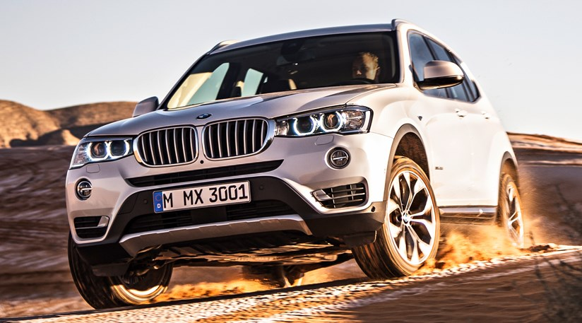 bmw x3 facelift 2014 first official pictures by car magazine. Black Bedroom Furniture Sets. Home Design Ideas