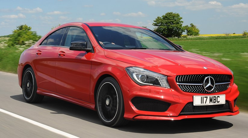 mercedes cla220 cdi amg sport 2014 review car magazine. Black Bedroom Furniture Sets. Home Design Ideas