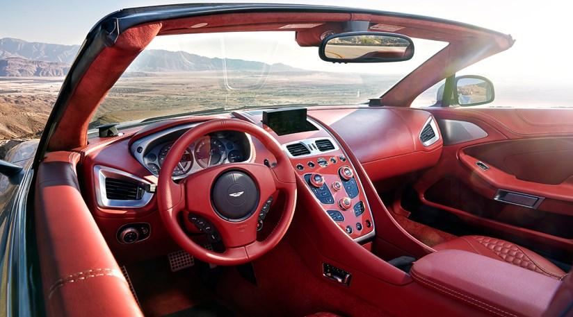 Aston Martin Vanquish Volante Review CAR Magazine - Aston martin vanquish volante
