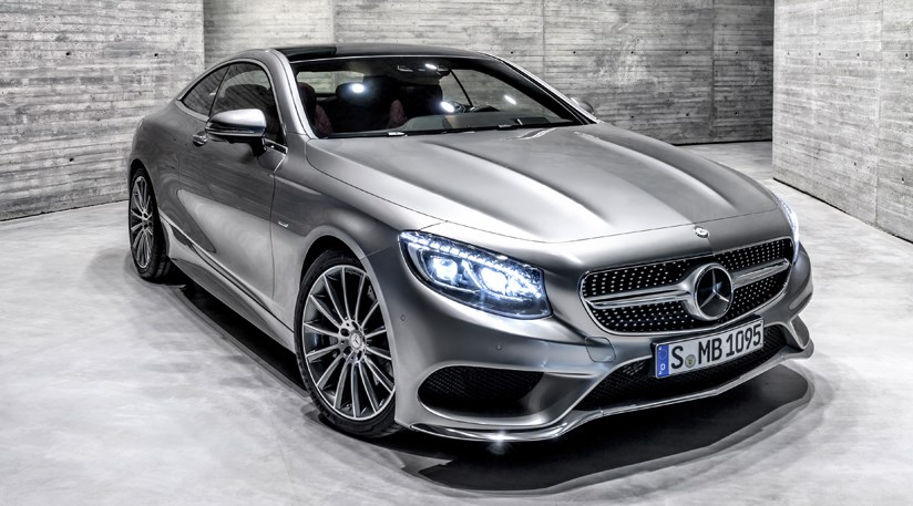 mercedes s class coupe 2014 first official pictures by car magazine. Black Bedroom Furniture Sets. Home Design Ideas