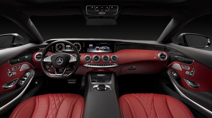 Mercedes s class coupe 2014 first official pictures for How much is a 2014 mercedes benz s550