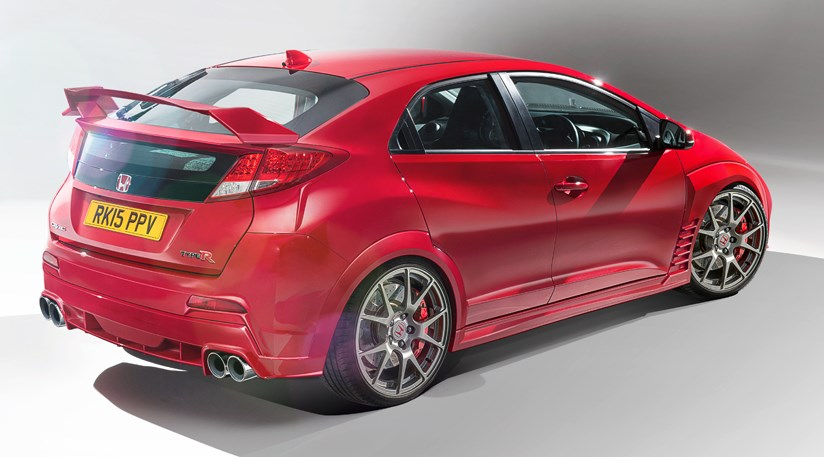 Honda Civic Type R 2014 Concept Sketch And Prototype