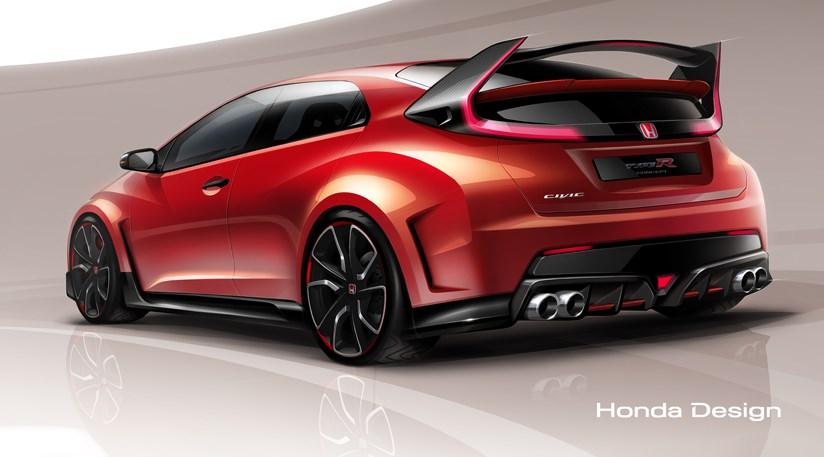Honda Civic Concept in New York   Bilnyheter dot no