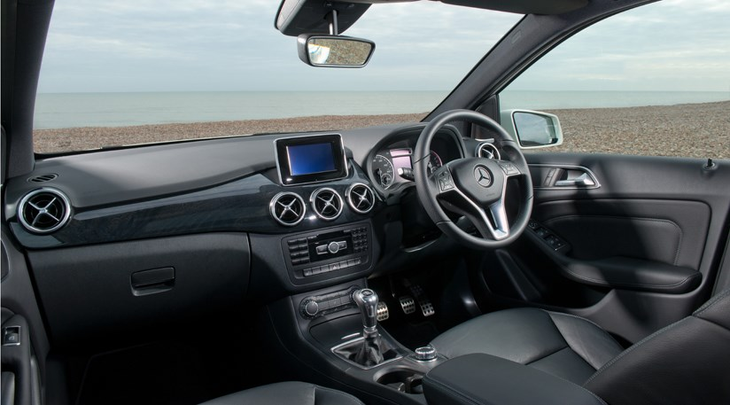 mercedes b class b180 cdi eco se 2014 review by car magazine. Black Bedroom Furniture Sets. Home Design Ideas