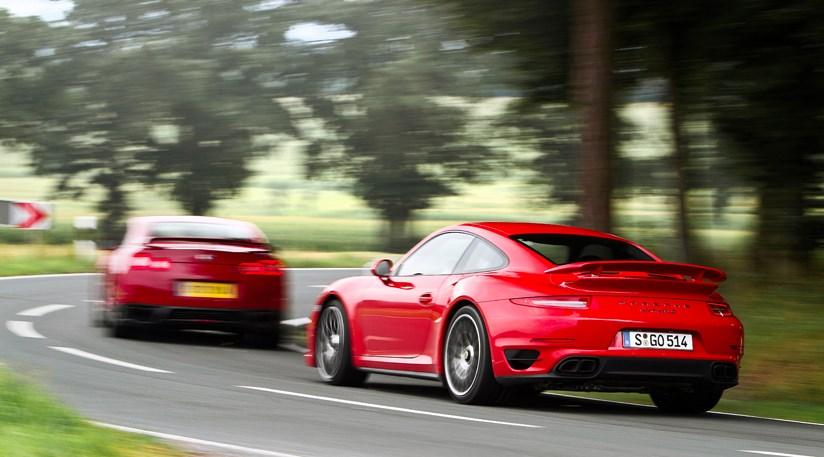 Porsche 911 Turbo S Vs Nissan Gt R 2014 Review By Car