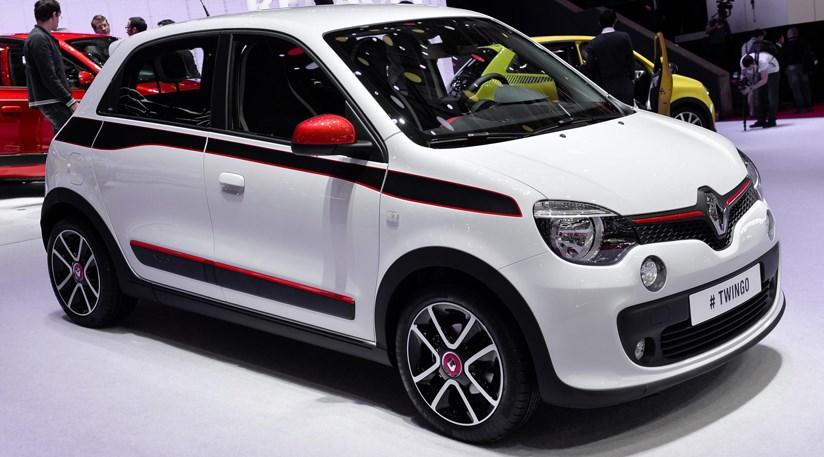 renault twingo 2014 first official pictures by car magazine. Black Bedroom Furniture Sets. Home Design Ideas