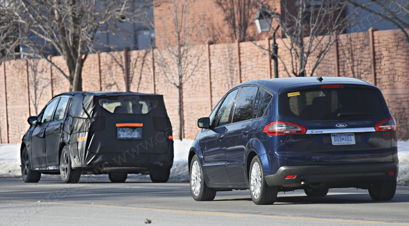 Ford S Max 2015 Second Gen Family Favourite Spied In Usa Car