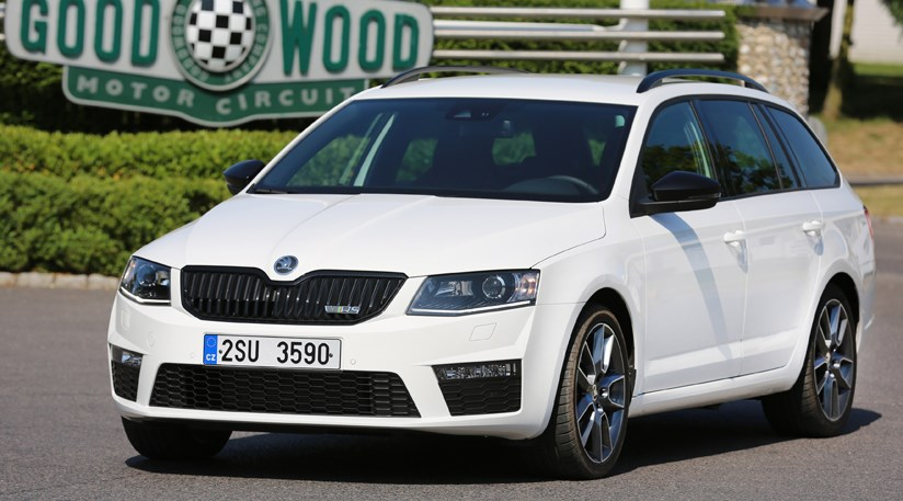Skoda Octavia Vrs Estate 20 Tdi 2014 Review Car Magazine