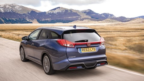 Honda Civic Tourer >> Honda Civic Tourer I Dtec 1 6 2014 Review Car Magazine
