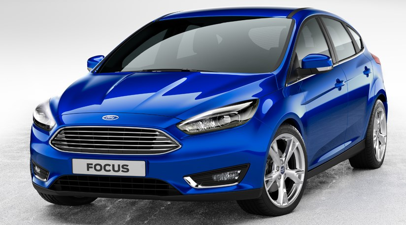 ford focus facelift 2014 first official pictures by car magazine. Black Bedroom Furniture Sets. Home Design Ideas