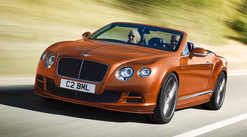 Bentley Continental GT Speed (2014) fastest Bentley ever revealed ...