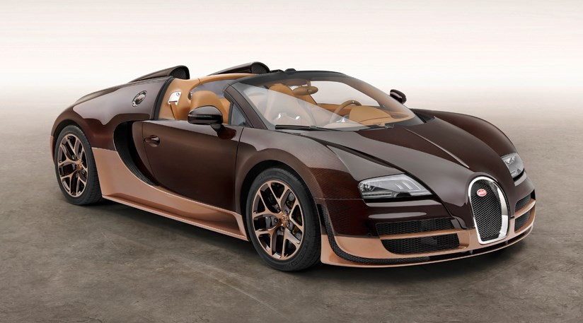 Bugatti Veyron 'Rembrandt Edition' (2014) first official pictures ...