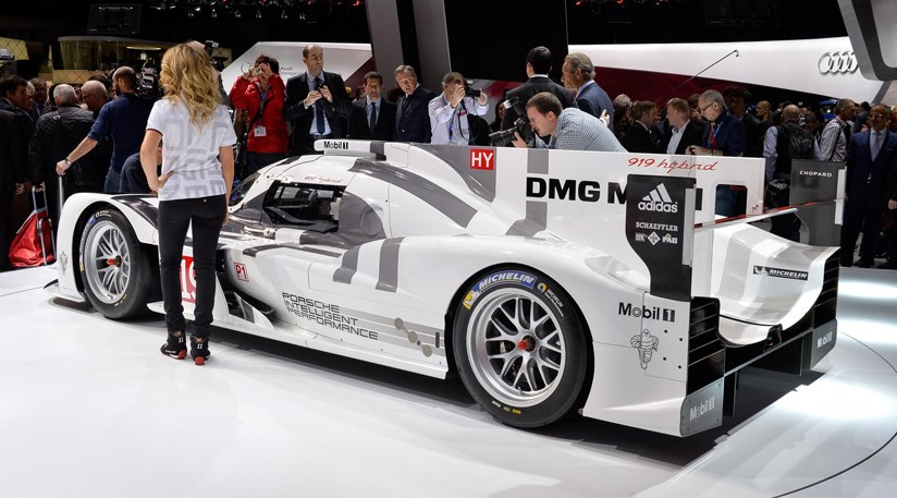 porsche 919 hybrid 2014 first official pictures by car magazine. Black Bedroom Furniture Sets. Home Design Ideas