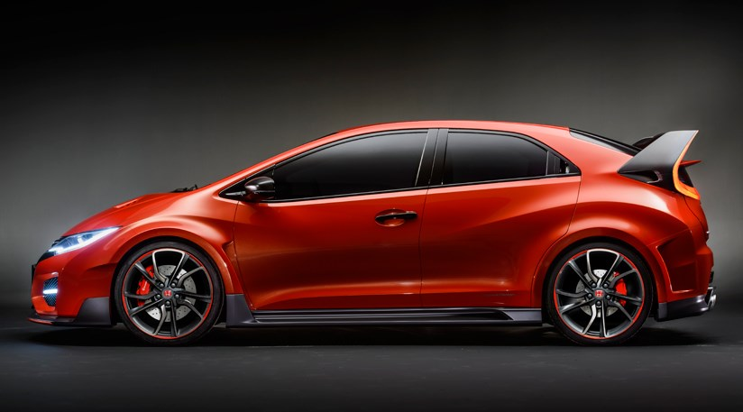 Honda civic type r concept 2014 first official pictures for Honda civic type r near me