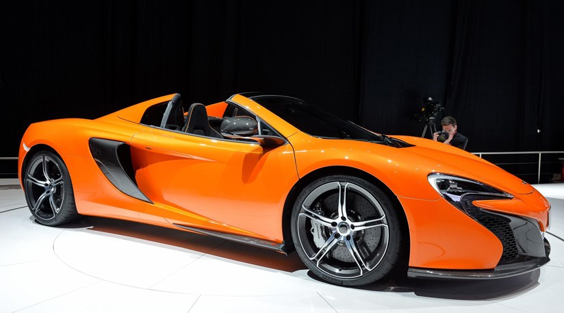 mclaren 650s spider (2014) first official pictures | car magazine