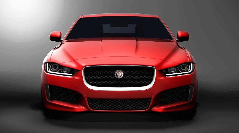jaguar chooses xe name for new small sports saloon 2014