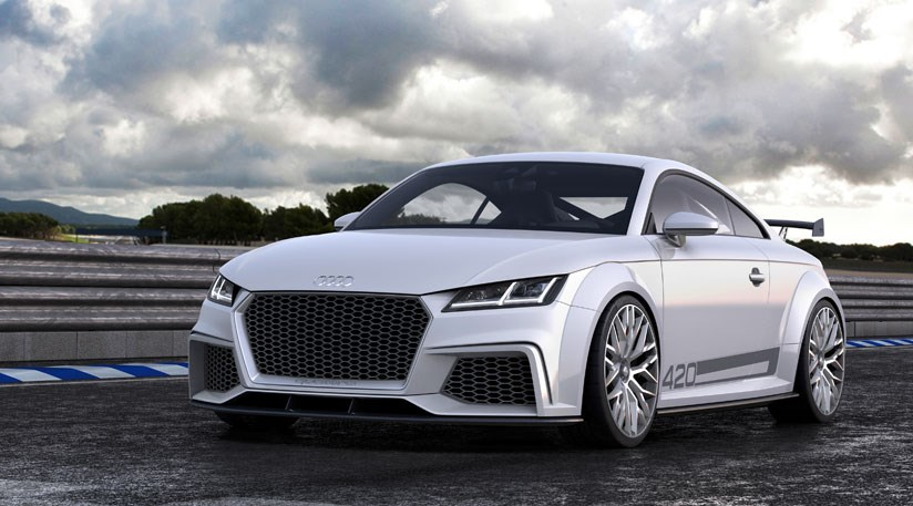 Audi TT Quattro Sport First Official Pictures By CAR Magazine - Audi official