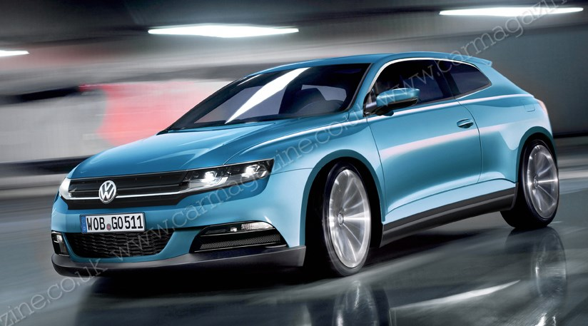 vw plots ultimate scirocco rs for next coupe 2014 by car magazine. Black Bedroom Furniture Sets. Home Design Ideas