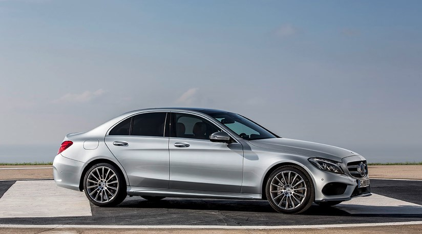 Mercedes C class C250 Bluetec AMG Line 2014 review