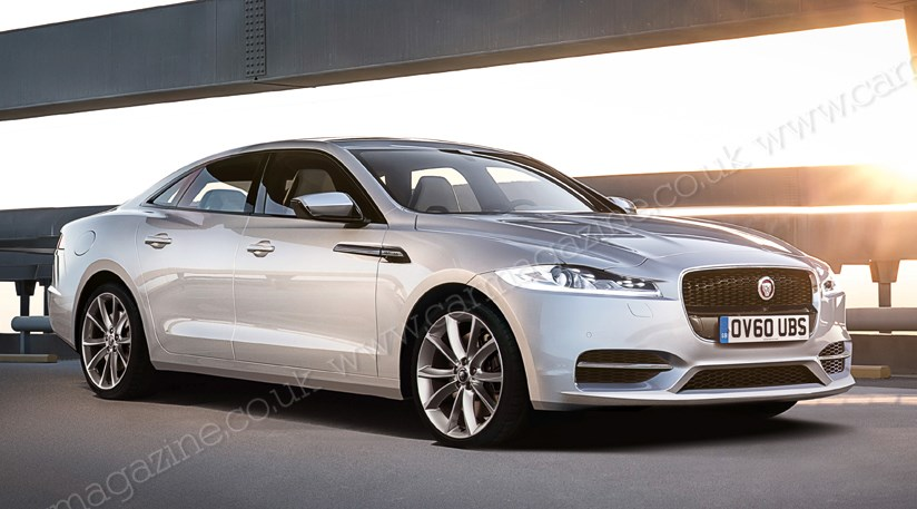 Jaguar Expansion The Next Xj Will Have A More Conventional Saloon Profile Than Existing Car