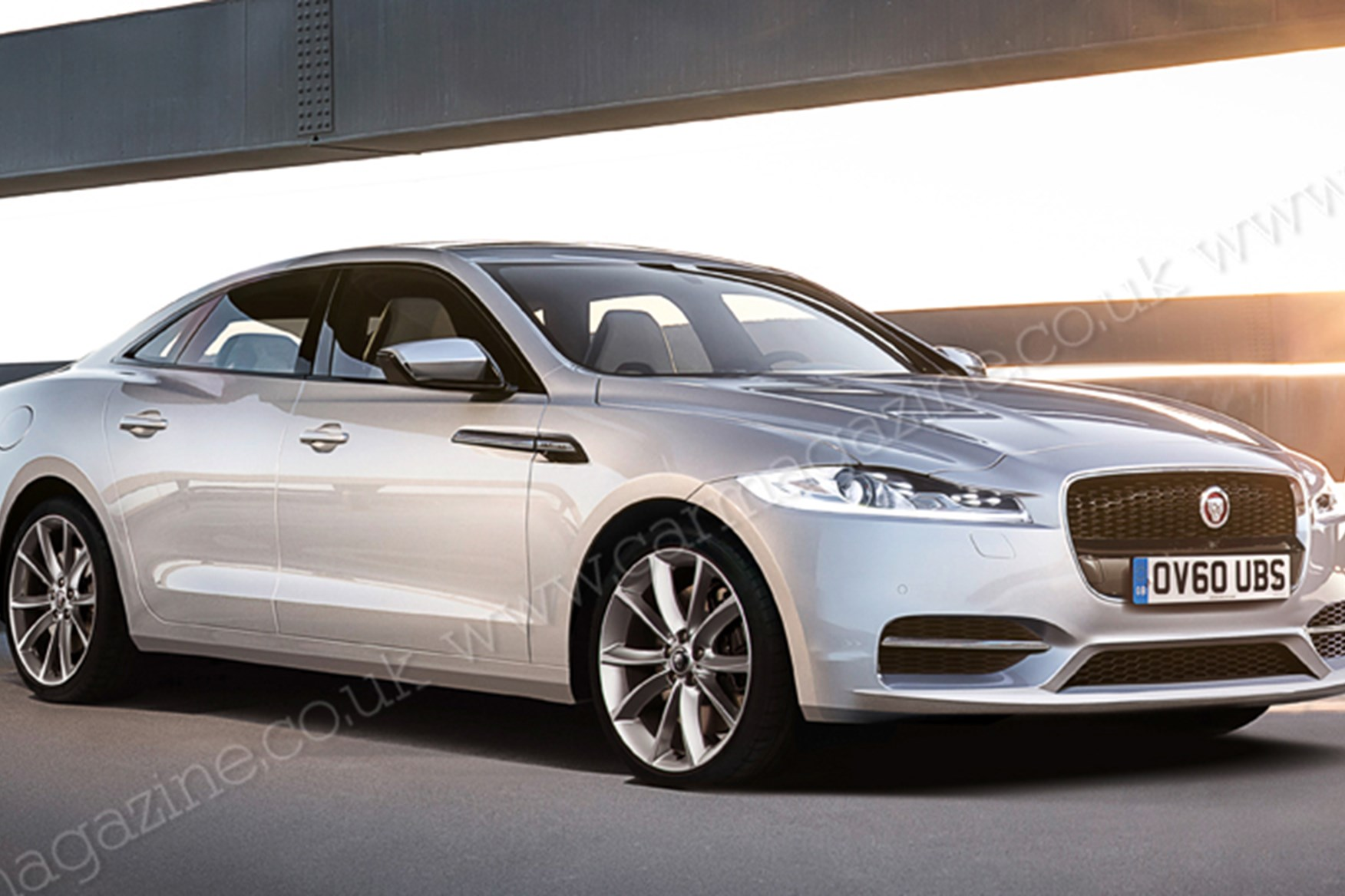 ... Jaguar Expansion The Next XJ Will Have A More Conventional Saloon  Profile Than The Existing Car, ...
