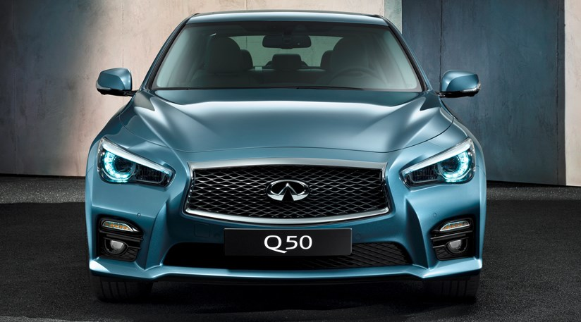 infiniti q50 hybrid s 2014 review car magazine. Black Bedroom Furniture Sets. Home Design Ideas