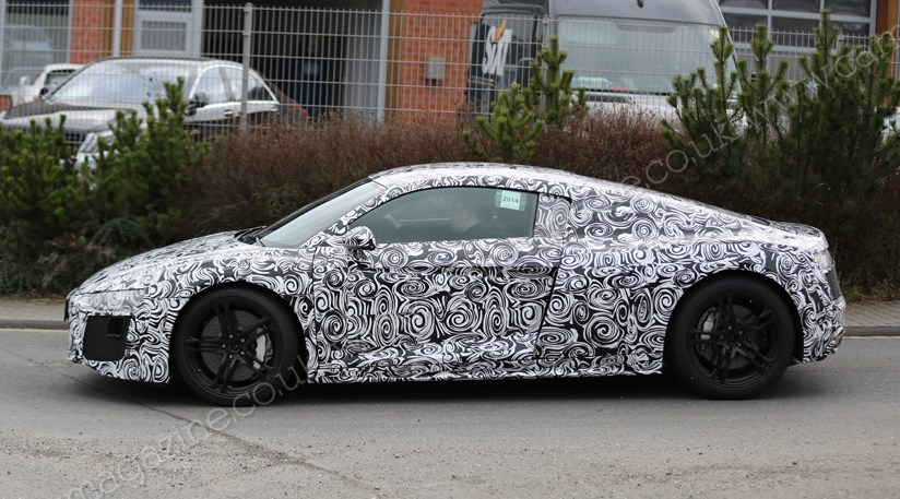 Audi R First Spy Shots Of Audis New Supercar CAR Magazine - Audi super car