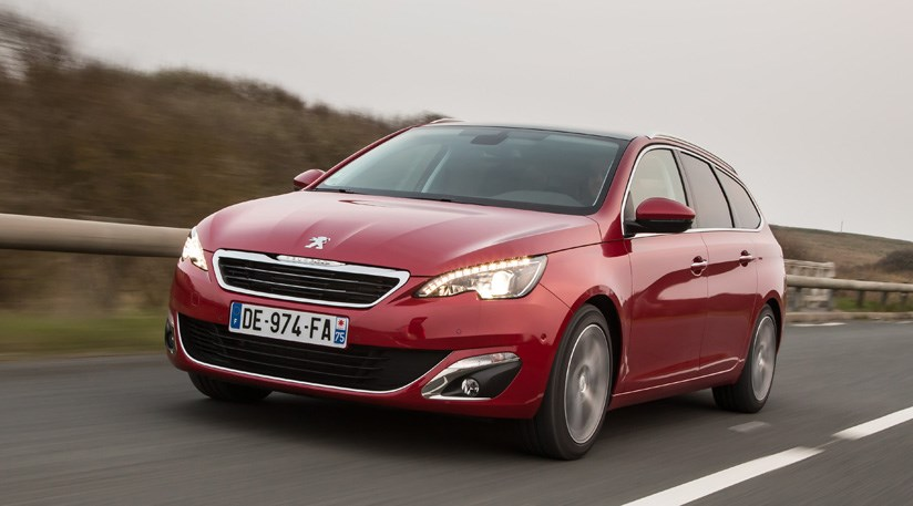 peugeot 308 sw feline puretech 1 2 e thp 130 2014 review by car magazine. Black Bedroom Furniture Sets. Home Design Ideas