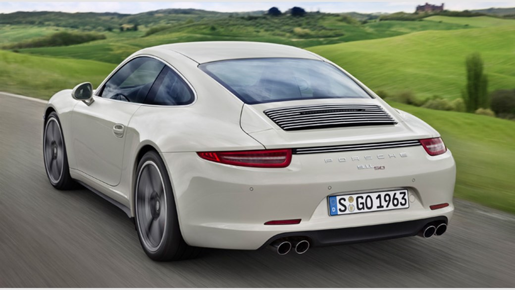 porsche 911 50th anniversary edition specs