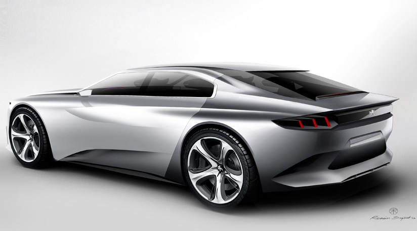 Peugeot Exalt concept (2014) first official pictures   CAR Magazine
