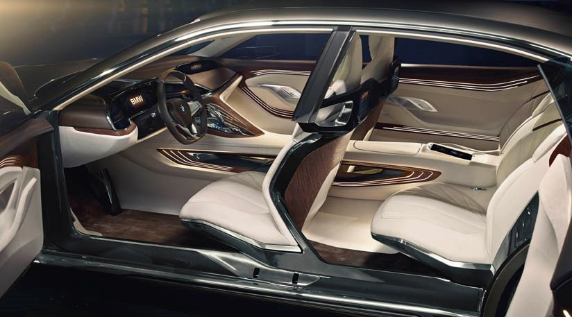 Bmw Vision Future Luxury Concept 2014 First Official Pictures