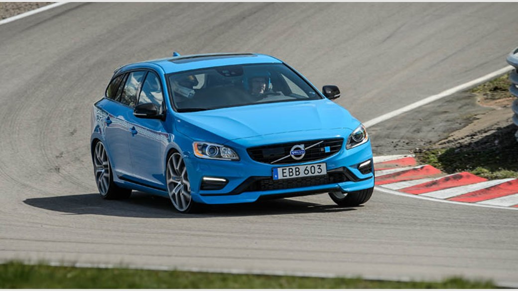 Volvo V60 Polestar 2014 Review Car Magazine